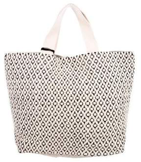 Max Mara Weekend Canvas Tassel Tote w/ Tags