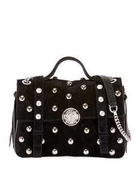 Balmain Baby Soft Pearly Flap Shoulder Bag