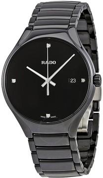 Rado True Black Dial Quartz Men's Watch