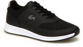 Lacoste Women's Chaumont Lace Bi-material Lurex Sneakers