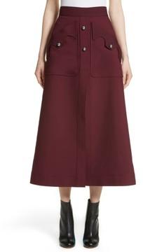 Ellery Women's Professor Patch Pocket Midi Skirt
