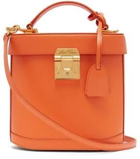 Mark Cross Benchley Leather Shoulder Bag - Womens - Orange