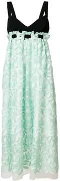 Mantu high-waisted floral detail dress