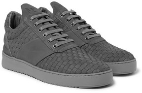 Filling Pieces Woven Nubuck Sneakers