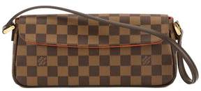 Louis Vuitton Damier Ebene Canvas Recoleta Bag - BROWN - STYLE
