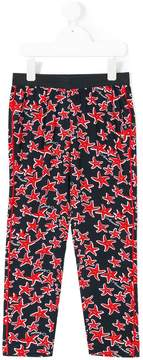 Emporio Armani Kids starfish printed leggings