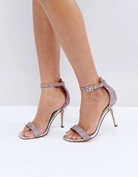 Head Over Heels by Dune Madera Blush Heeled Sandals