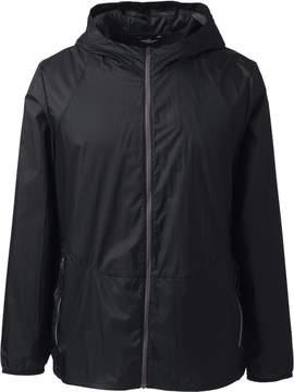 Lands' End Lands'end School Uniform Men's Packable Nylon Jacket