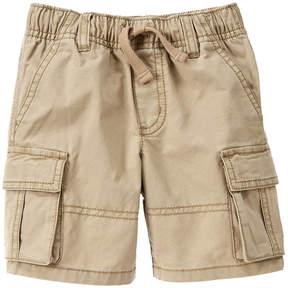 Gymboree Khaki Basic Cargo Shorts - Infant & Toddler