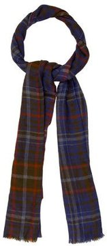 Loro Piana Plaid Fringe-Trimmed Scarf