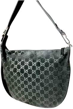 Gucci Hobo cloth handbag - BLACK - STYLE