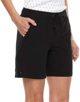 Croft & Barrow Women's Pull-On Sheeting Shorts