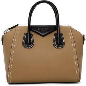 Givenchy Beige and Black Small Antigona Bag