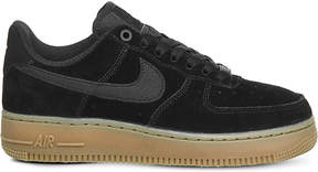 Nike Force 1 07 suede trainers