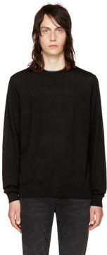 Paul Smith Black Multistripe Sweater