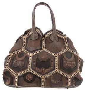 Jamin Puech Beaded Patchwork Bag