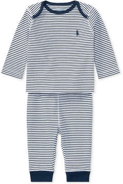 Polo Ralph Lauren Ralph Lauren Striped Top & Pants Set, Baby Boys