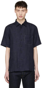 Rag & Bone Blue Fit 3 Beach Shirt