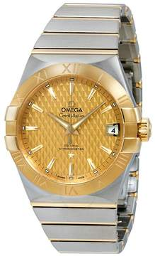 Omega Constellation Automatic Champagne Dial Men's Watch