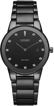 Citizen Eco-Drive Men's Axiom Diamond Stainless Steel Watch - AU1065-58G