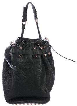 Alexander Wang Leather Diego Bucket Bag