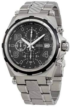 GUESS Men's Chronograph Wired Stainless Steel Watch W0243G1