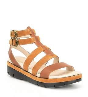 Jambu Piper Leather Nubuck Sandals