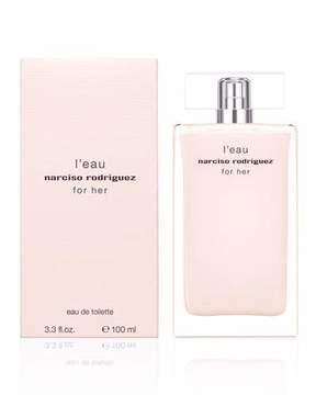Narciso Rodriguez For Her L'eau Eau de Toilette, 3.3 oz./ 98 mL