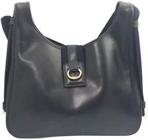 Hermes Tsako leather handbag - BLUE - STYLE