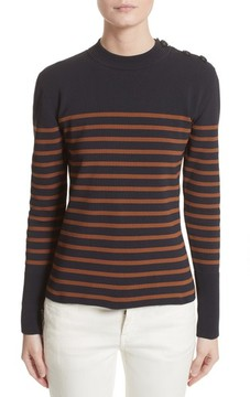 Belstaff Women's Selicia Stripe Sweater