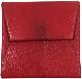 Hermes Leather purse - RED - STYLE