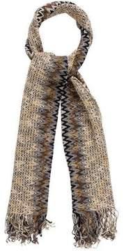 Missoni Knit Chevron Scarf