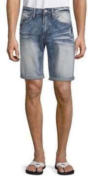 Buffalo David Bitton Evan Basic Denim Shorts