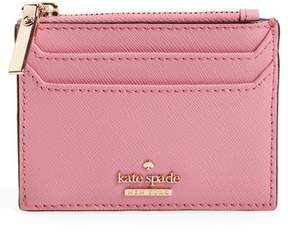 Kate Spade Cameron Street - Lalena Leather Card Case - PINK - STYLE