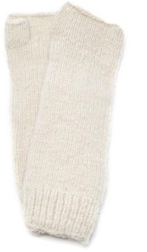 The Elder Statesman M'O Exclusive Long Fingerless Gloves