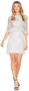 Elliatt Reflections Cape Dress