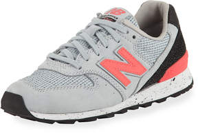 New Balance Men's Embossed Leather Sneakers