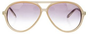 Matthew Williamson Resin Aviator Sunglasses