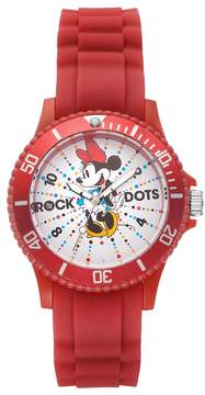 Disney Disney's Minnie Mouse Rock the Dots Women's Watch