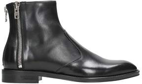 Givenchy Zip Black Ankle Boots