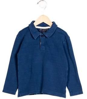 Oscar de la Renta Boys' Collared Long Sleeve Shirt