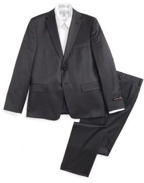 Boy's Michael Kors Worsted Wool Suit