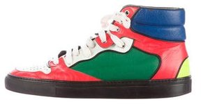 Balenciaga Colorblock High-Top Sneakers