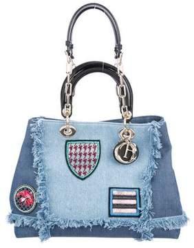 Christian Dior D Light Denim Bag