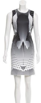 Clover Canyon Ikat Print Neoprene Dress