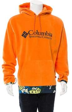 Opening Ceremony Columbia x Fleece Logo Hoodie