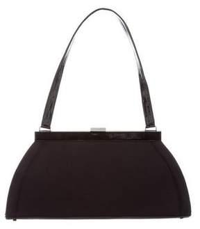Stuart Weitzman Structured Woven Handle Bag