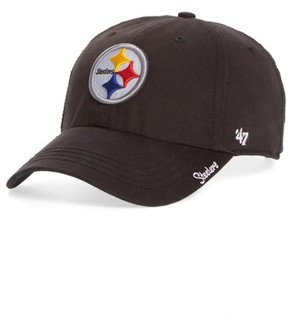 '47 Women's Pittsburgh Steelers Cap - Black