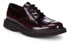 Prada Lace-Up Leather Dress Shoes