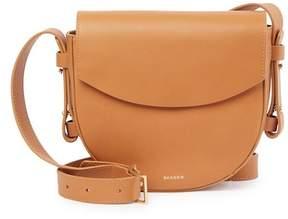 Skagen Lobelle Leather Saddle Crossbody Bag
